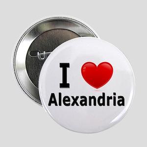 "I Love Alexandria 2.25"" Button"