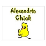 Alexandria Chick Small Poster