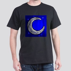 The Celtic Moon Black T-Shirt