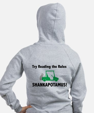 Try Reading the Rules Shankapotamus-Women's Hoodie