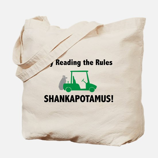 Try Reading the Rules Shankapotamus- Tote Bag