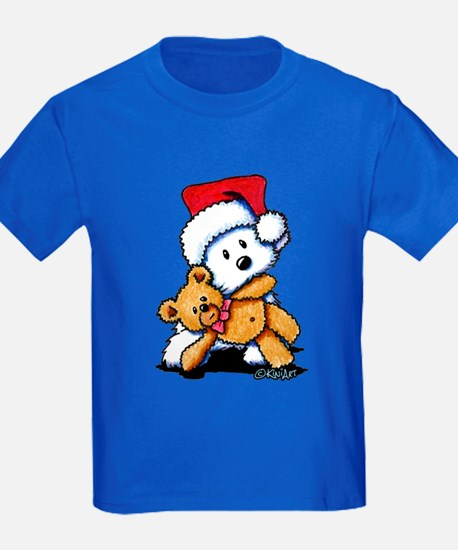 Christmas Teddy Bear Westie T