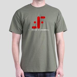 V:Friendship is Universal Dark T-Shirt
