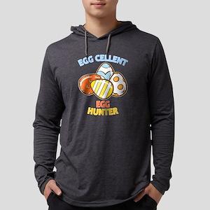 Eggcellent Egg Hunter graphic Long Sleeve T-Shirt