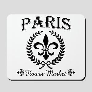 PARIS FLOWER MARKET Mousepad