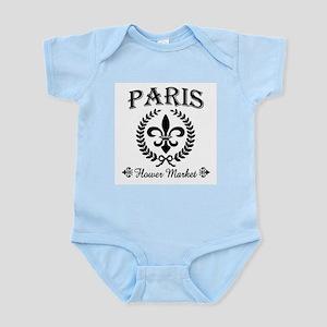 PARIS FLOWER MARKET Infant Bodysuit