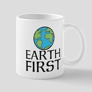 EARTH FIRST Mugs