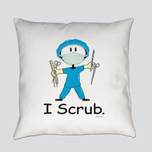 Surgical Tech Stick Figure Everyday Pillow
