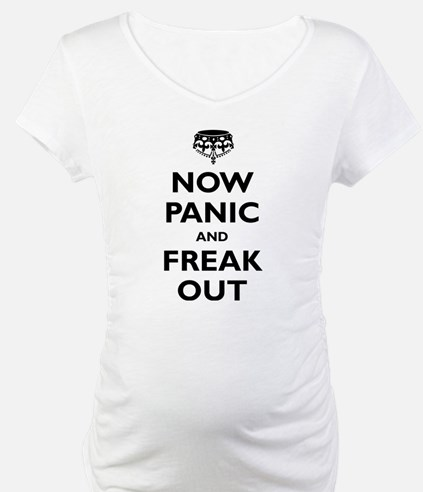 Unique Now panic and freak out Shirt