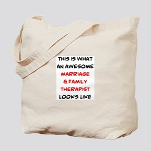 awesome marriage & family therapist Tote Bag
