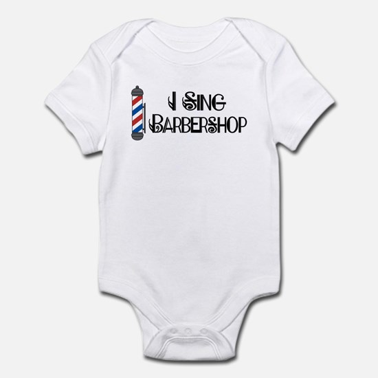 I Sing Barbershop Infant Bodysuit