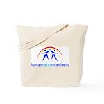 Human Nature Manifesto Tote Bag