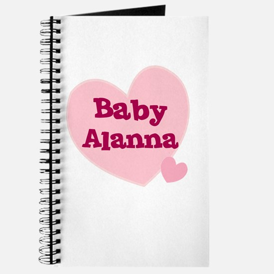 Baby Alanna Journal