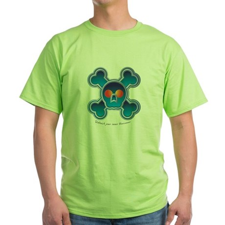 Jolly Roger Green T-Shirt