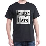 Your Image Here Black T-Shirt