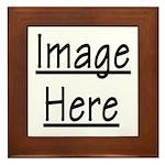 Your Image Here Framed Tile
