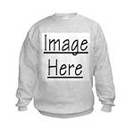 Your Image Here Kids Sweatshirt