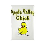 Apple Valley Chick Rectangle Magnet (100 pack)