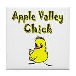 Apple Valley Chick Tile Coaster