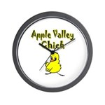 Apple Valley Chick Wall Clock