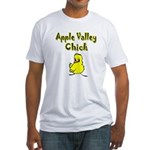 Apple Valley Chick Fitted T-Shirt