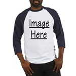 Your Image Here Baseball Jersey (Blue)