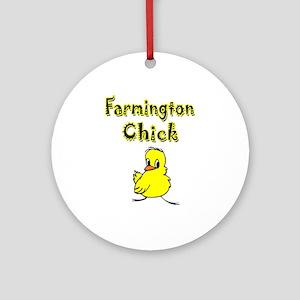 Farmington Chick Ornament (Round)