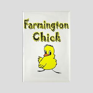 Farmington Chick Rectangle Magnet