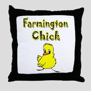 Farmington Chick Throw Pillow