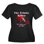 Trinity Killer Women's Plus Size Scoop Neck Dark T