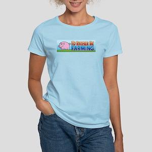 I'd Rather be Farming 2 Women's Light T-Shirt