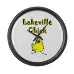 Lakeville Chick Large Wall Clock