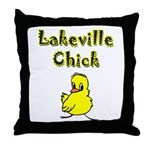 Lakeville Chick Throw Pillow
