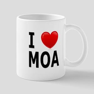 I Love MOA Mug