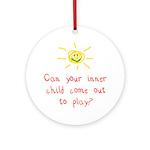 Inner Child Ornament (Round)