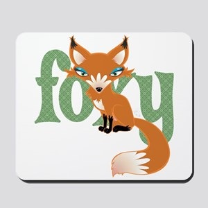 Foxy Red Mousepad