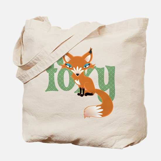 Foxy Red Tote Bag