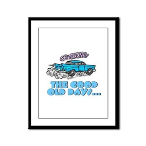 The Good Old Days... Framed Panel Print