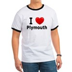 I Love Plymouth Ringer T