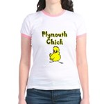 Plymouth Chick Jr. Ringer T-Shirt