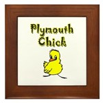 Plymouth Chick Framed Tile