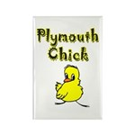 Plymouth Chick Rectangle Magnet (10 pack)