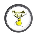 Plymouth Chick Wall Clock