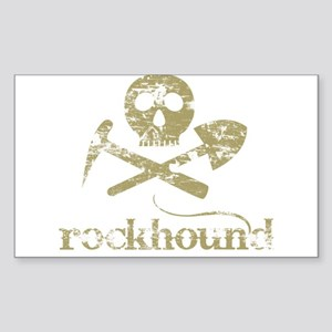 Rockhound Rectangle Sticker