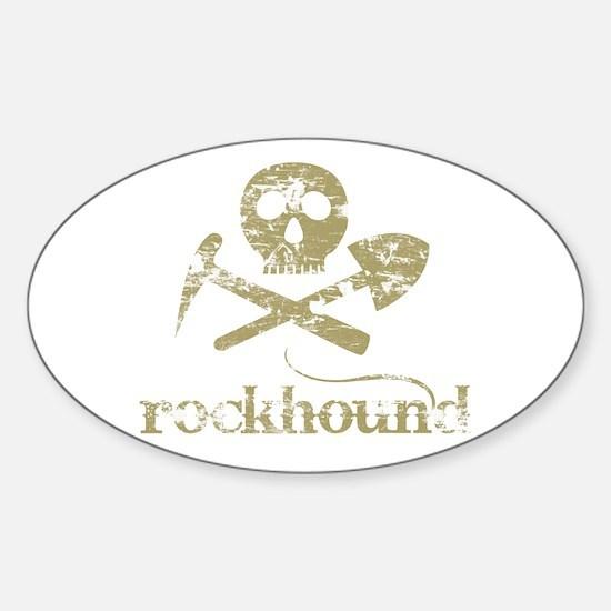Rockhound Oval Decal