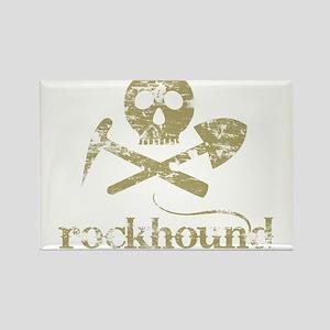 Rockhound Rectangle Magnet