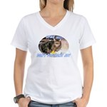 Don't Postpone Joy Women's V-Neck T-Shirt
