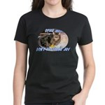 Don't Postpone Joy Women's Dark T-Shirt