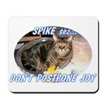 Don't Postpone Joy Mousepad