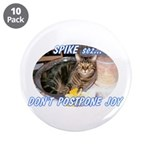 "Don't Postpone Joy 3.5"" Button (10 pack)"